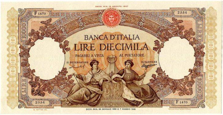"""Quando la lira vinceva gli """"oscar delle monete"""" assegnati dal Financial Times"""
