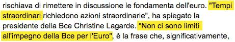 la BCE stampa di nuovo
