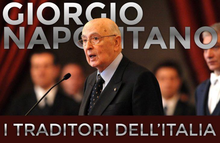 I traditori dell'Italia: Giorgio Napolitano