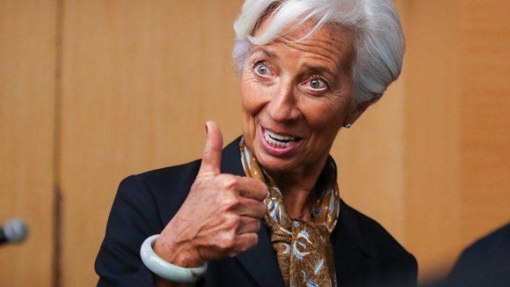Ormai la crescita del PEPP è dietro l'angolo. Discorso da «Colpo al cerchio e colpo alla botte» della a-economica Lagarde