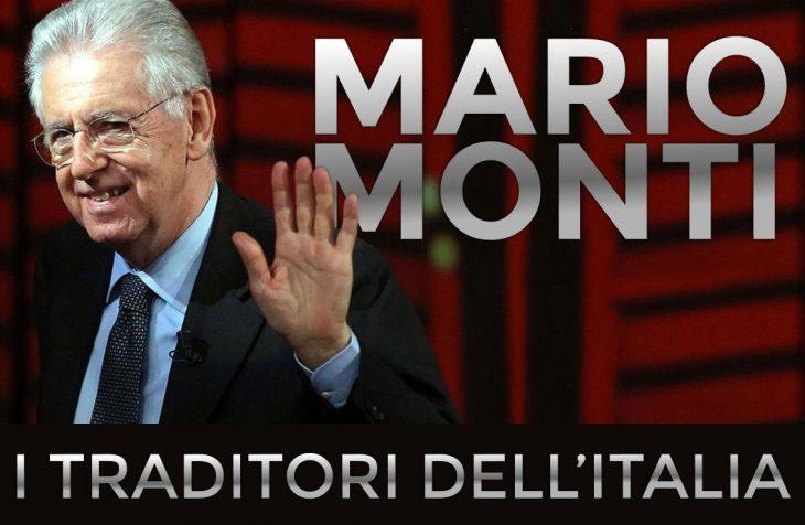 I traditori della patria atto 1°, Mario Monti