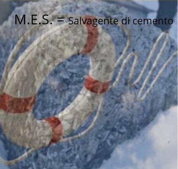 """""""Un salvagente di cemento….. il M.E.S."""" di R. SALOMONE-MEGNA"""
