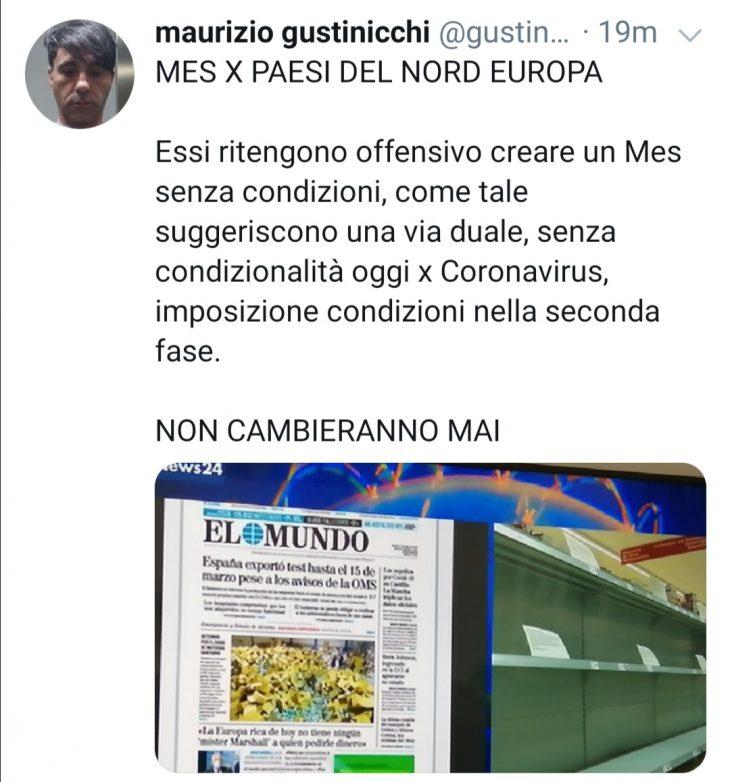 NOVITÀ DALL'EUROGRUPPO SU MES E CORONABOND
