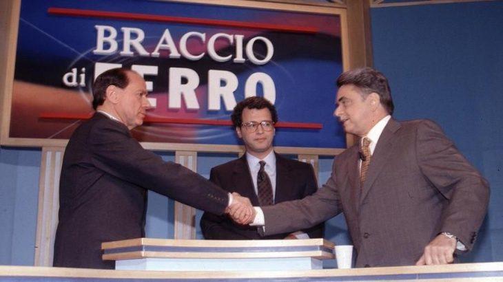 Elezioni 1994: il confronto TV fra Berlusconi e Occhetto