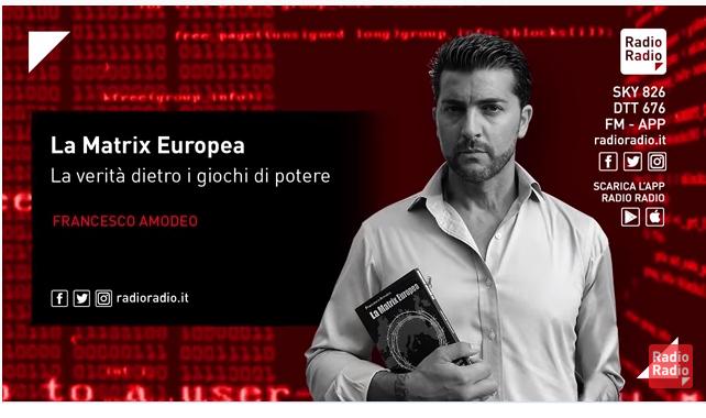 FRANCESCO AMODEO: CONTE PAGA GATES E NON LA CURA DELLA  SIEROTERAPIA