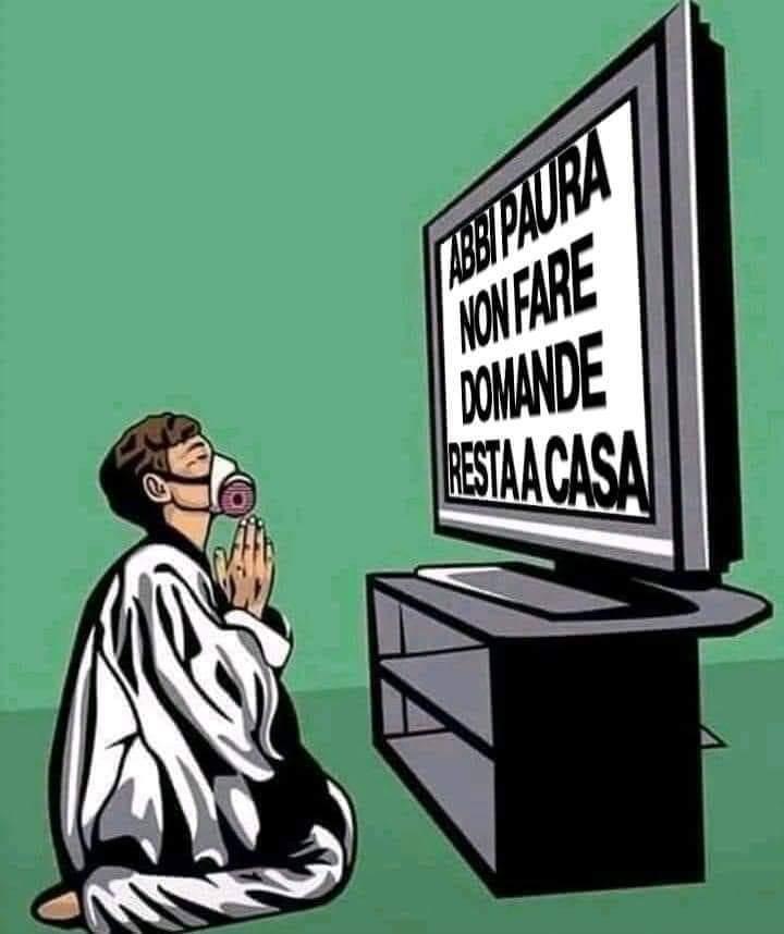 STATO DI EMERGENZA PERMANENTE (di Giuseppe Palma)