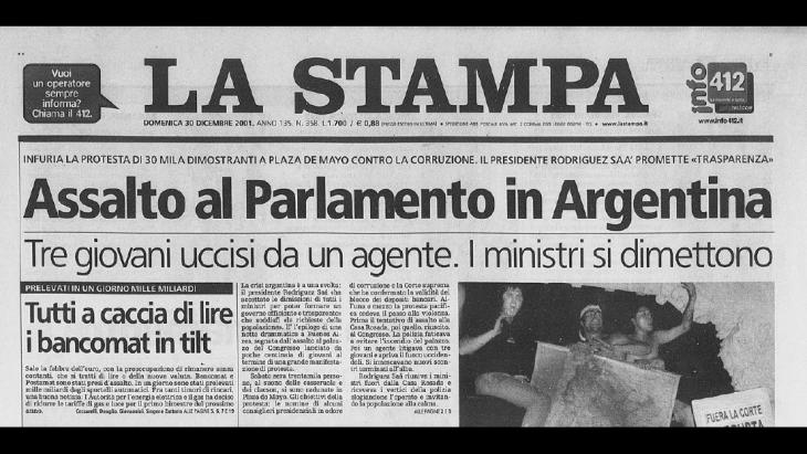 La crisi argentina del 2001 spiegata facile