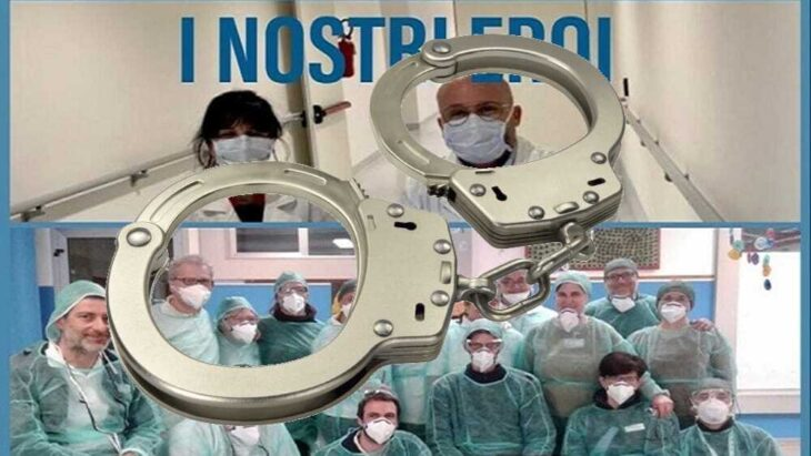 I colpevoli per i morti di Covid-19 che gli ospedali non sono riusciti a curare non stanno in Italia, ma a Bruxelles.