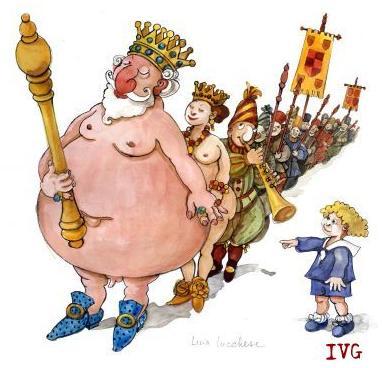 #Coronavirus IL RE È NUDO! (di Giuseppe Palma)