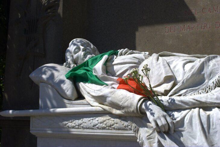 A Villa Pamphili uccidono Mameli per la seconda volta (di Giuseppe PALMA)