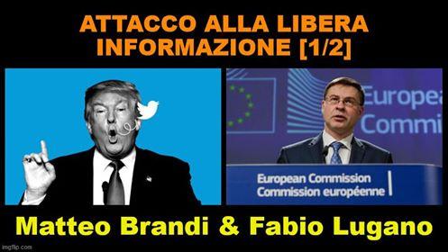 COMUNICAZIONE SCORRETTA  ED ECONOMIA ALLO SBANDO. Intervista a Matteo Brandi e Fabio Lugano, prima parte