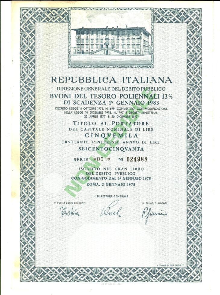 BTP ITALIA FUTURA: UN BUON INVESTIMENTO, SE CACCIAMO CONTE E GUALTIERI…