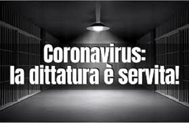 TRAPPOLA CORONAVIRUS-5G-DITTATURA SANITARIA-DISTRUZIONE PRINCIPI E DIRITTI COSTITUZIONALI……IL POPOLO SI STA SVEGLIANDO E UNENDO LE FORZE (di Marco Santero)