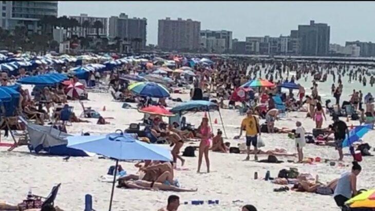 FLORIDA: MARE, SOLE E COVID. Record di casi negli USA dal primo maggio