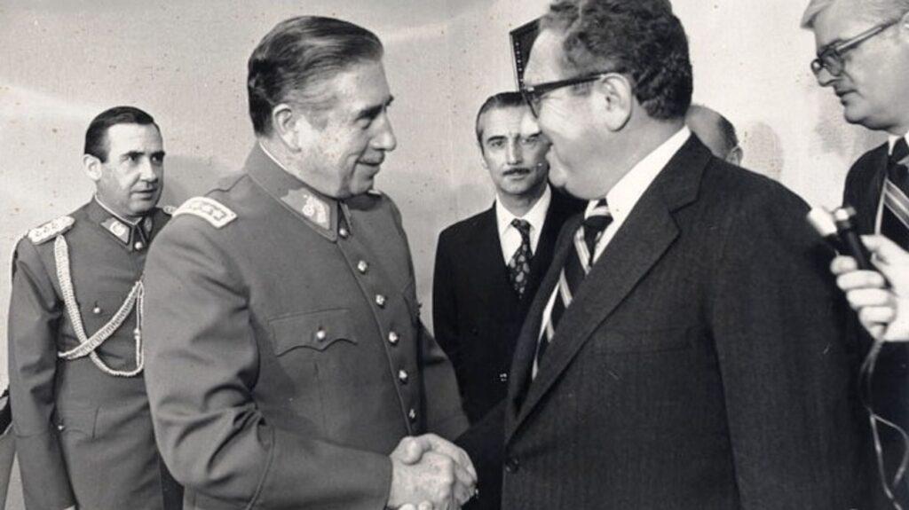 Henry Kisinger con Pinochet
