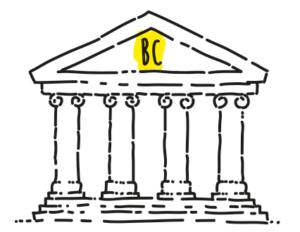 La banca centrale - illustrazione tratta dal libro di economia spiegata facile