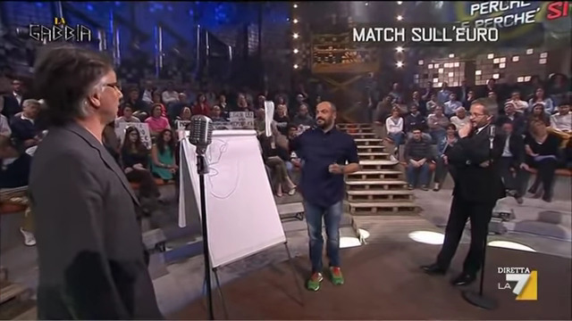 La Gabbia: Borghi vs Boldrin 13 aprile 2014