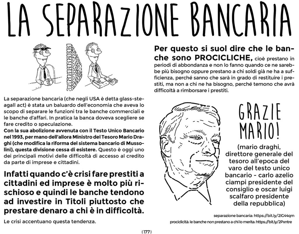 separazione bancaria - dal libro di economia spiegata facile