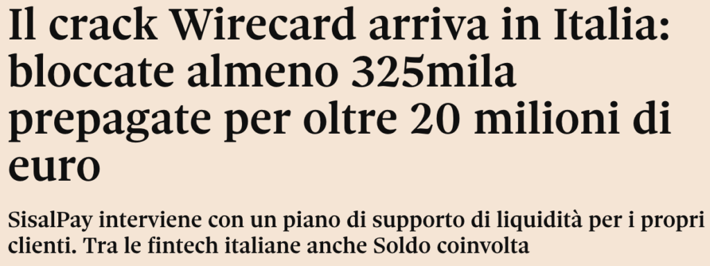 Crack Wirecard