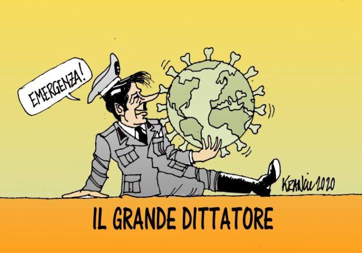 """""""STATO DI ECCEZIONE PERMANENTE"""" (di Giuseppe Palma)"""
