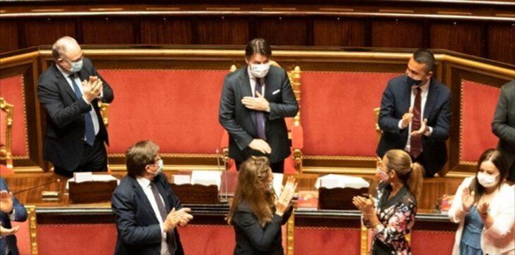 """Conte è il novello Cesare. """"Ave Cesare, democrazia te salutant"""" (VIDEO di G. Palma)"""