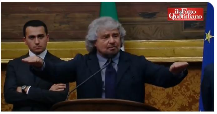 AMARCORD: caro Grillo, cosa dicevi, cosa sei. Uno sconfitto dentro