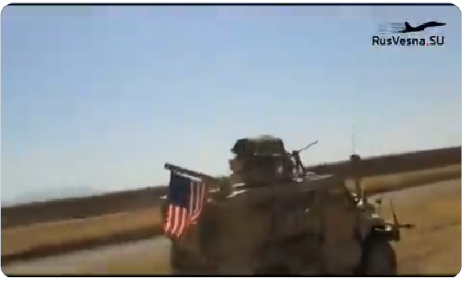 Siria: sfiorato lo scontro a fuoco fra russi ed Americani. La posizione USA sempre più precaria nel paese