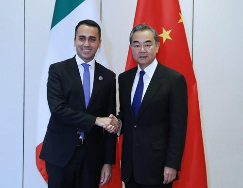 Arriva il Ministro degli Esteri cinese: adesso vedremo Di Maio «Servitor di due padroni»