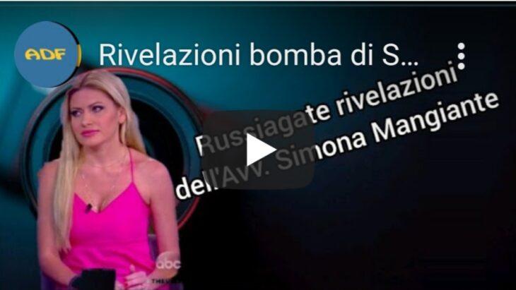 Simona Mangiante: «Salvini politico italiano di riferimento per Trump; Russiagate trascinerà nel baratro ex Governo Renzi»