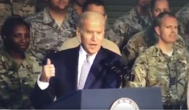 Quando Biden da' degli «Stupidi bastardi» ai soldati USA