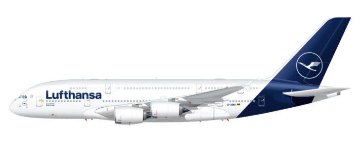 Lufthansa in crisi profonda mette a terra tutti gli A380. Un altro progetto europeo in cenere