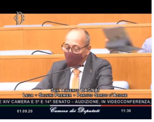 BAGNAI vs GENTILONI in Commissione Parlamentare. A domanda l'«imputato» non rispose…