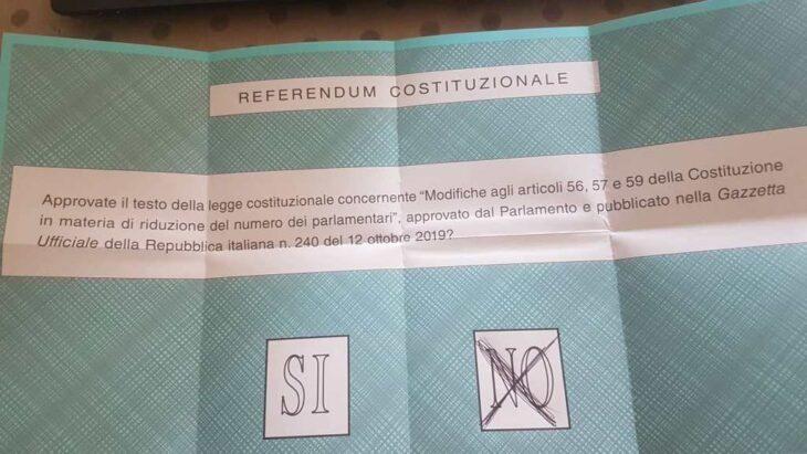 Taglio dei Parlamentari: 12 motivi per dire NO! (di P. Becchi e G. Palma)
