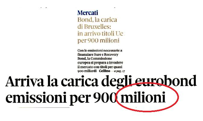 Come il Recovery Fund rischia di far saltare il debito italiano. Ringraziamo Gualtieri e Co. per aver aperto la strade all'Italexit