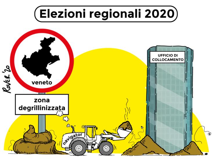 Il Veneto è zona «degrillinizzata»