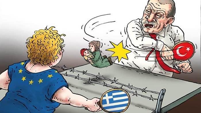 La Grecia lasciata da sola contro la Turchia. Conte lasciando il vertice venerdì ha abbandonato la nazione amica…