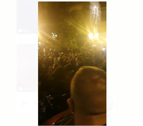Napoli, ore 23.00. Coprifuoco