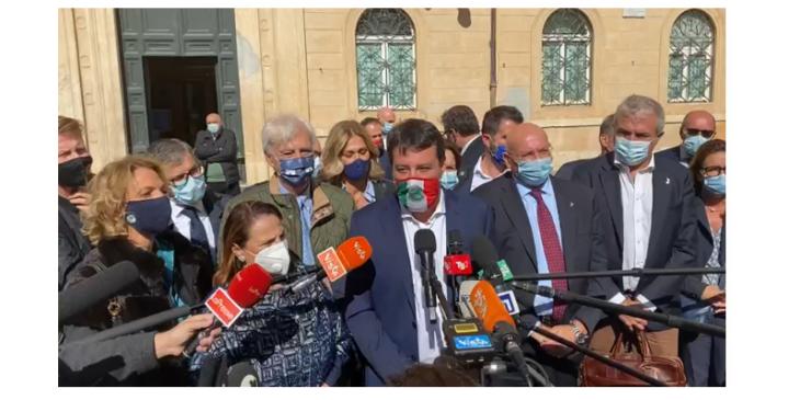 Salvini conferma la «linea europea» della Lega. Smentiti i vari mass media disinformati