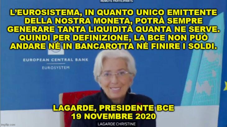 La verità sull'emissione di moneta, parola di banca centrale