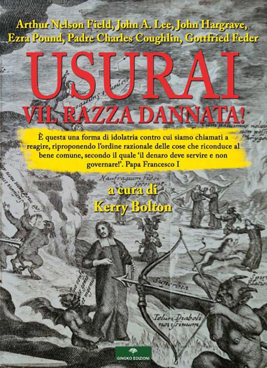 Usurai, vil razza dannata! È uscito in edizione italiana il libro da non perdere