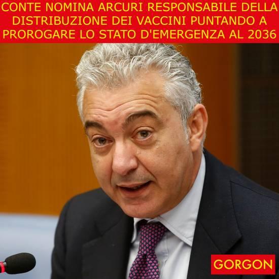 Arcuri Commissario anche ai vaccini. Così siamo sicuri che sarà un fallimento. In Italia non ci sono altre persone?