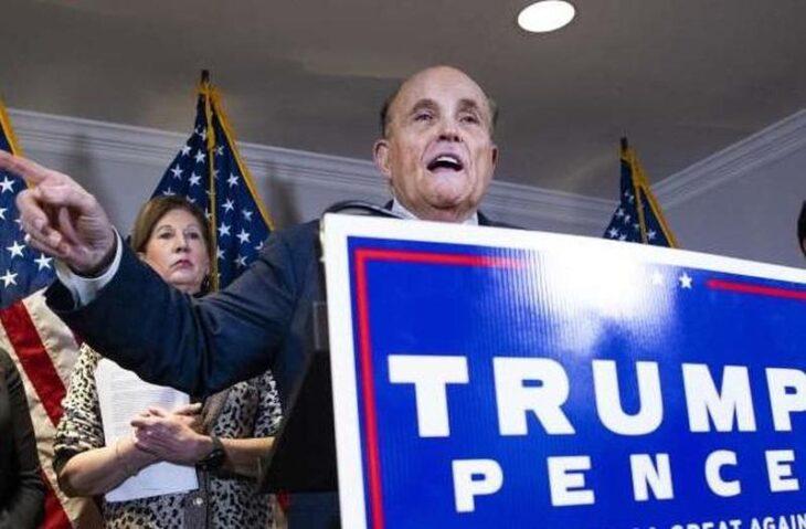 Stop alla certificazione dei voti in Pennsylvania. Inaspettata vittoria di Giuliani.