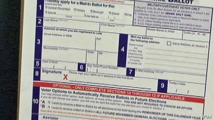 Primo colpo al voto per corrispondenza in Pennsylvania