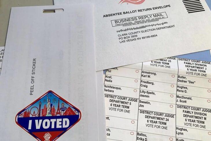 Giornalista di Las Vegas ha votato 8 volte, e nessuno se ne è accorto