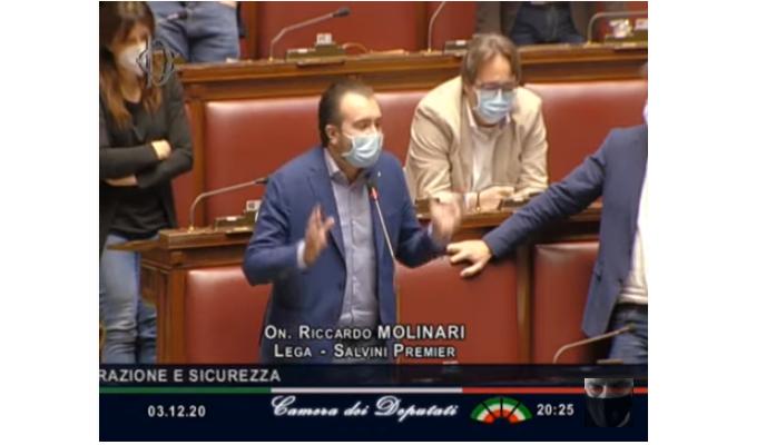 Molinari: «Conte diserta l'Aula e si comporta come Pinochet»