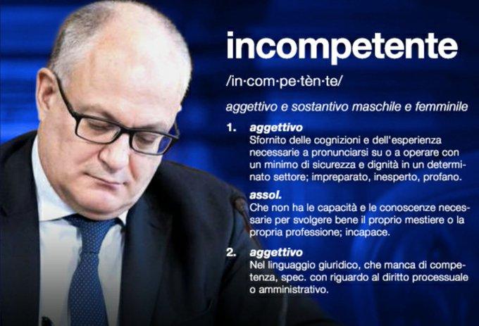 """Evviva, l'Italia riesce a portare a fondo il PIL dell'Eurozona. Il PD ritiene """"Indispensabile"""" l'autore di questo disastro"""