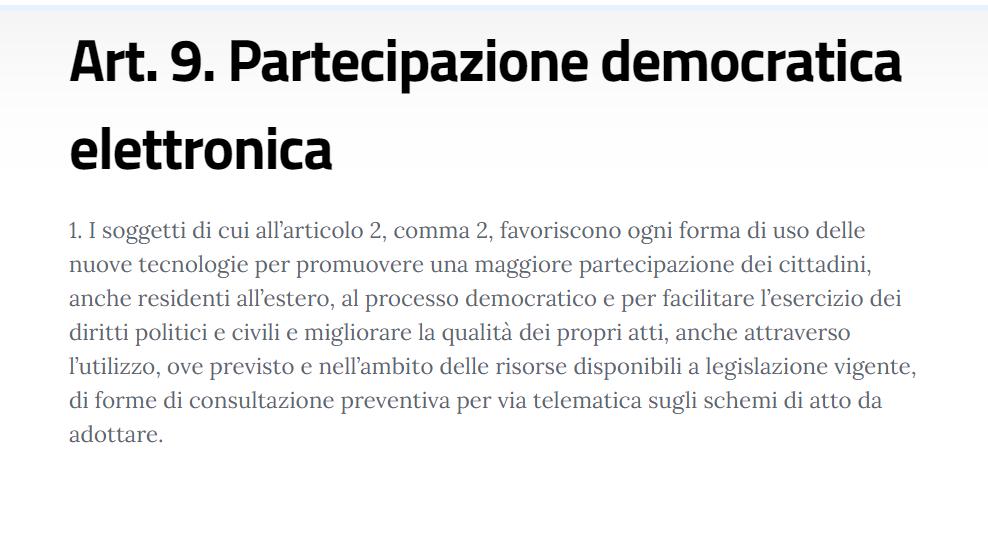 """La """"democrazia diretta"""" secondo il governo. Ministero della digitalizzazione"""