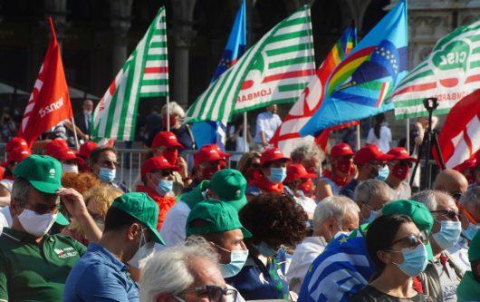 ITALIA DEI SINDACATI…. CHE FANNO GLI AFFARI PROPRI