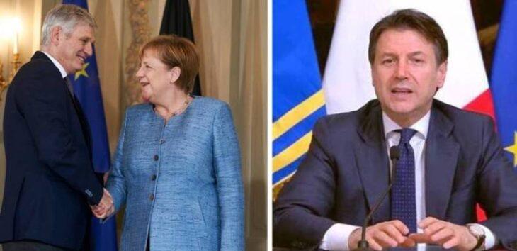 Conte lascia la delega dei Servizi Segreti… alla Merkel. Un cambio del responsabile apparente