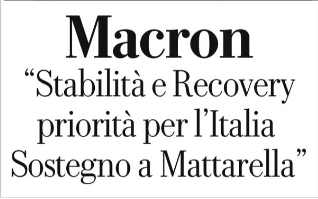 Italia, Protettorato Francese! Macron si permette di dirci cosa dobbiamo fare su Repubblica. Umiliazione dopo il caso STX